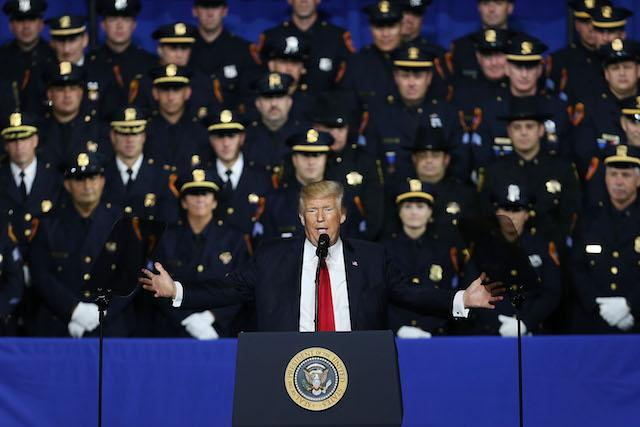 Cops Back Away From Trump\'s Recommendation Of More Police Brutal